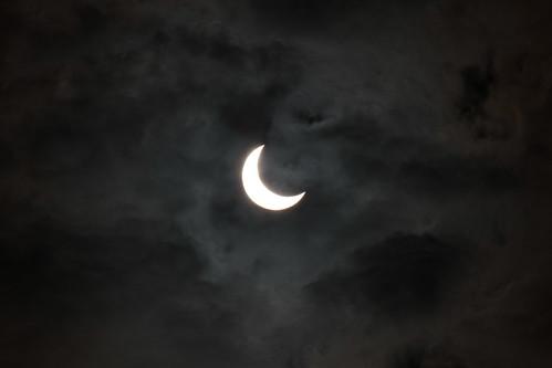 partial solar eclipse 部分日食 @さいたま