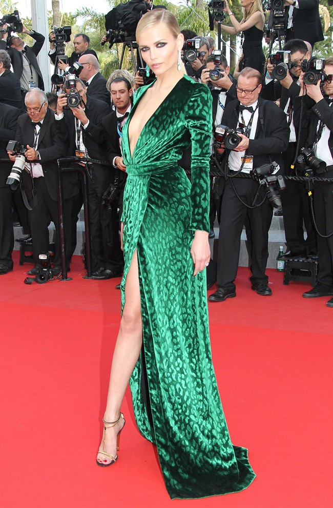 4 - Natasha Poly wears De GRISOGONO in Cannes 1