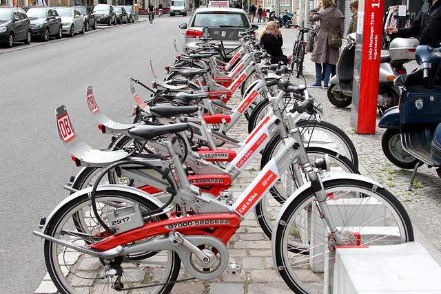 Call a Bike, Berlin bike share program