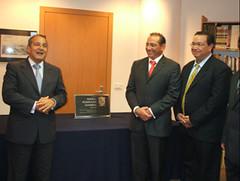 Visita de una delegación del Gobierno del Estado de Campeche