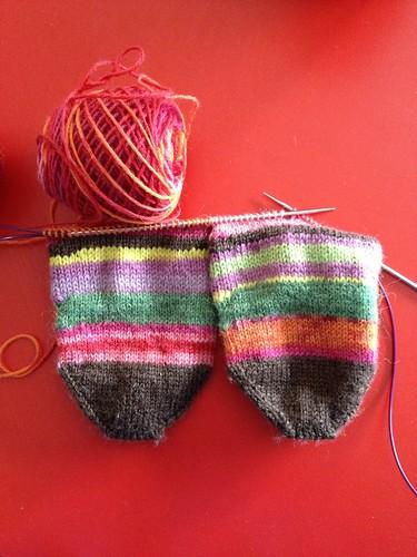 Scrappy socks!