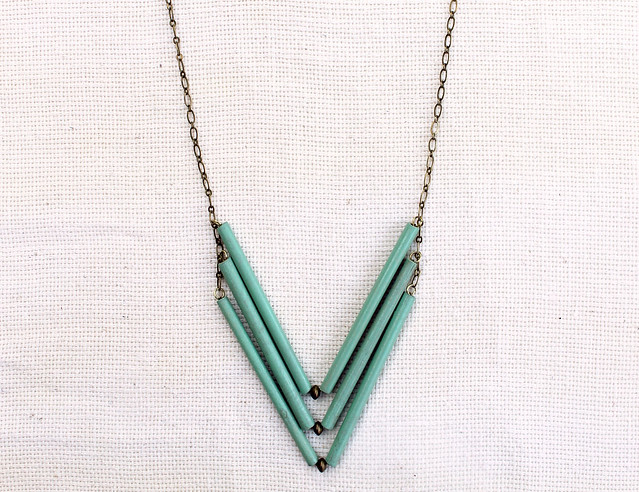 Sea Green Chevron