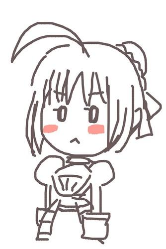 120526(2) - 聲優「恒松あゆみ」心血來潮畫出《Fate/Zero》所有角色的塗鴉、只有「久宇舞弥」發揮100%實力(笑) (3/18)