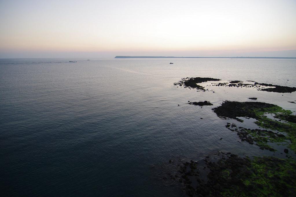 2012年5月25日,澎湖,夏的晚霞。