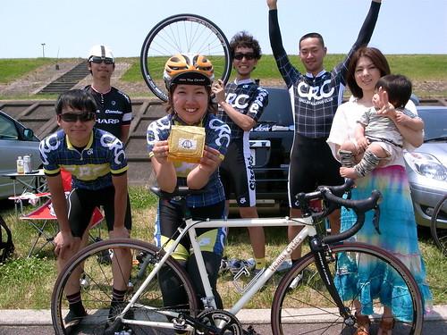 平田クリテリウム第5戦 TeamCRC