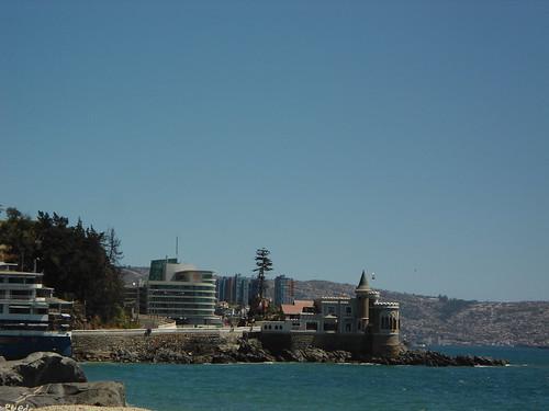 Estero Marga-Marga & Cap Ducal & Hotel Sheraton Miramar & Valparaíso, Viña del Mar, Chile 2012 - www.meEncantaViajar.com by javierdoren