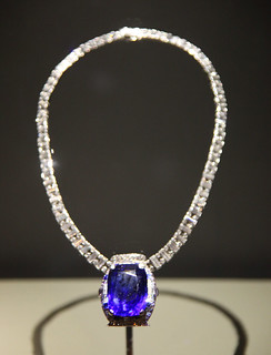 Bismarck Sapphire Necklace - Smithsonian Museum of Natural History - 2012-05-17