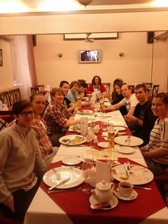 Dinner at Maxima Hotel