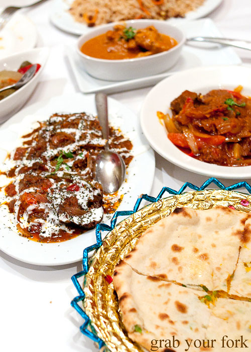 Afghani cuisine at Bamiyan Restaurant, Five Dock