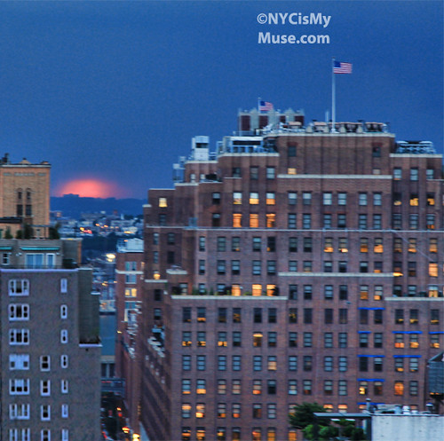 Yes Virginia, there was a Manhattanhenge -- 5/29/12 -- even under the massive clouds