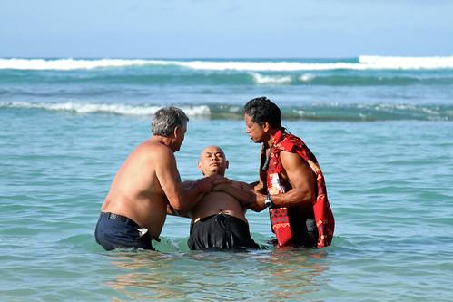 Easter Sunrise Service - Baptism