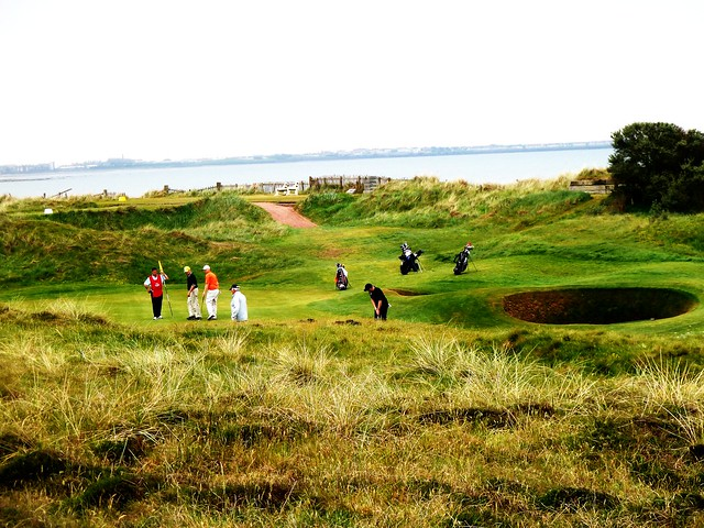 Golf in Process at Western Gailes