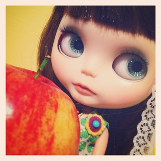 365.365: An Apple A Day! Day 365! We've mae it! What an adventure we have had! The things we have done, the places we have been & all the people we have met! I have truly loved this journey & doll so much more than I ever thought I would! Congrats Apple!
