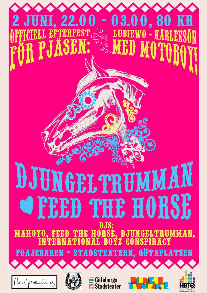 Feed The Horse Djungeltrumman Ikipedia