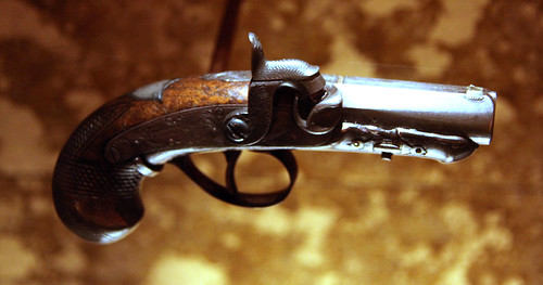 John Wilkes Booth derringer used to kill Abraham Lincoln 02 - Fords Theatre - 2012-05-20