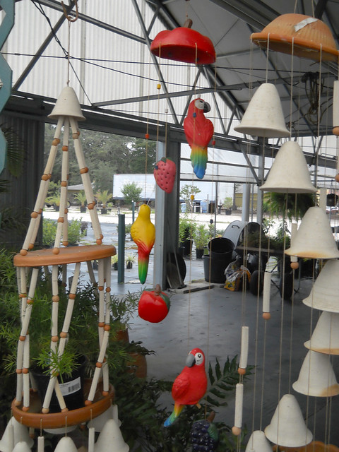 Macaw hanging decorations