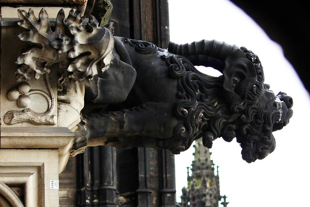 The Gargoyle Cologne Germany Flickr Photo Sharing