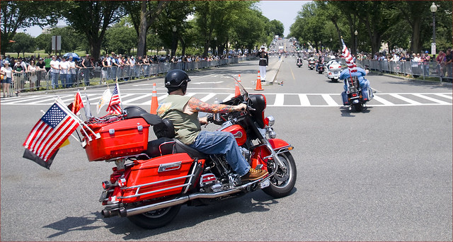 Rolling thunder xxv 23rd street nw washington dc may for Cogswell motors used cars