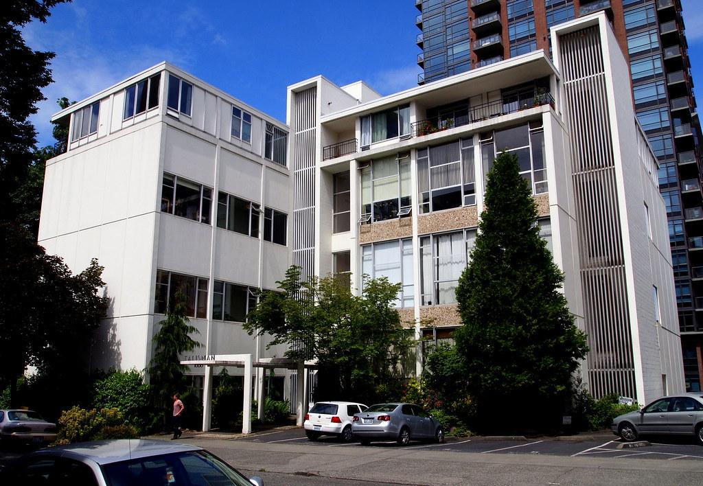 Mid-Century: The Talisman Condos, First Hill, Seattle WA