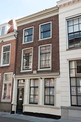 <p>Pand Lange Nieuwstraat waar Quint Ondaatje eind 18e eeuw een kamer had.</p>