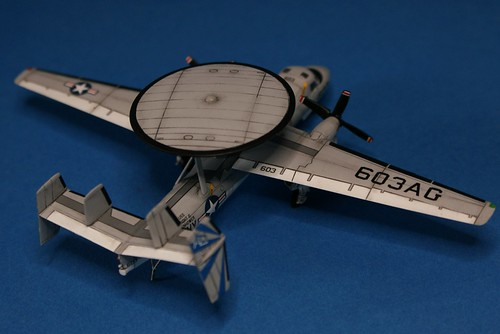 Revell 1/144 - E-2C Hawkeye - Completed - 4