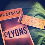 Seeing The Lyons on Broadway. I love humorous deaths, so fingers crossed.