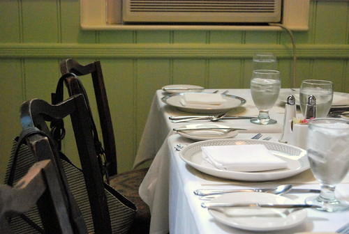 WPIR - table setting