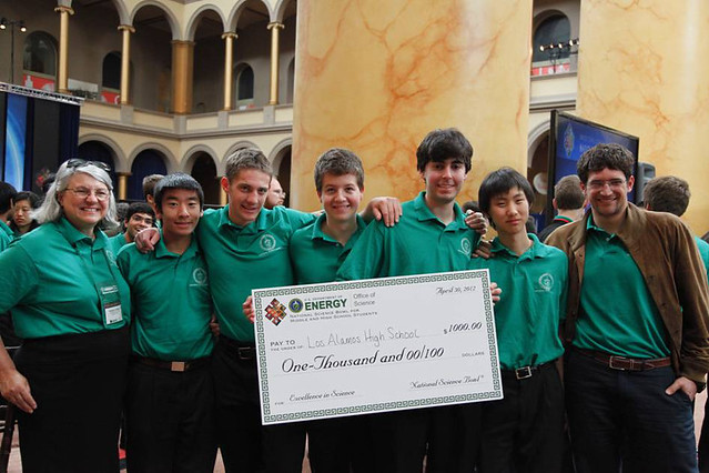 Members of the Los Alamos High School Science Bowl Team