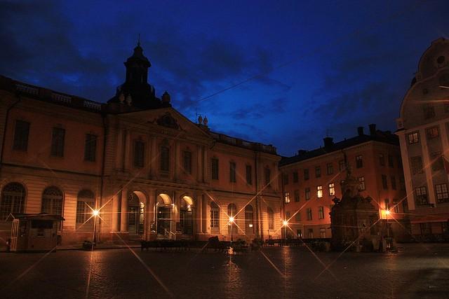 Börshuset, Nobelmuseet, Stortorget, Gamla Stan, Sweden