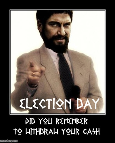 ELECTION DAY by Colonel Flick