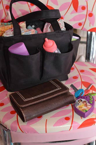 Dolly Diaper Bag - Wallet and Keys