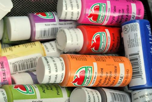 BP - Plaid paint stash