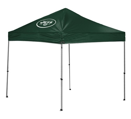 New York Jets TailGate Straight Leg Canopy, 9' x 9'