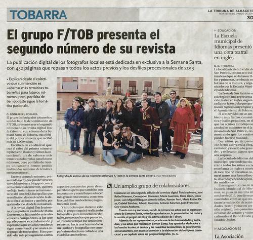 f/TOB en La Tribuna de Albacete