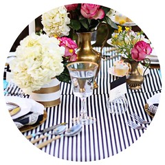 Stripes Table Overlay