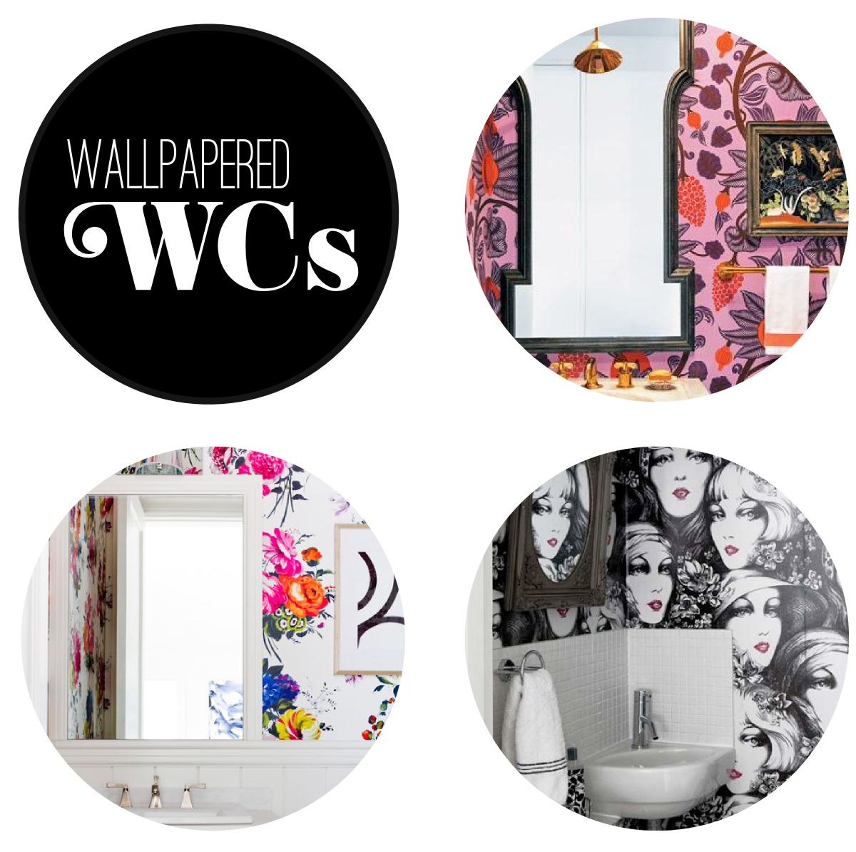 Fabric Paper Glue | Wallpapered WCs