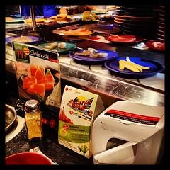 Dinner in Bangkok is superb, sushi buffet and hotpot #travel #sea #thailand #bangkok #food #sushi