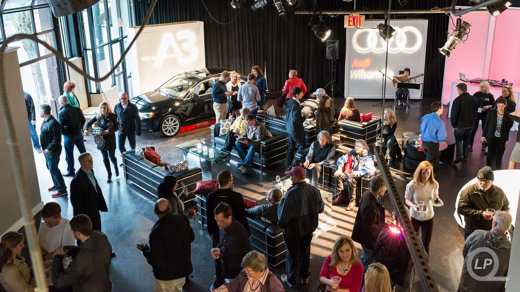Display Area at Audi Wilsonville's Event at Urban Studio