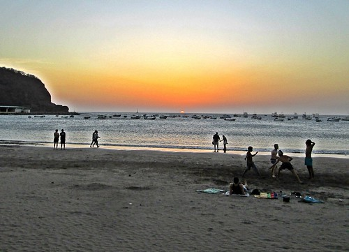 San Juan del Sur Beach - Sunset