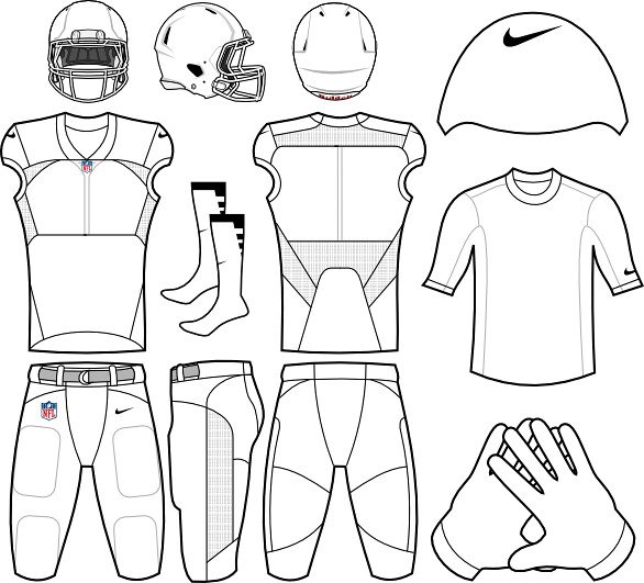 College football logo coloring pages