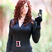 The Black Widow (Tyfani Minx) 2014 Amazing Arizona Comic Con (AACC) by gbrummett