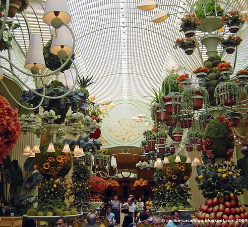 Wynn Buffet Blumen