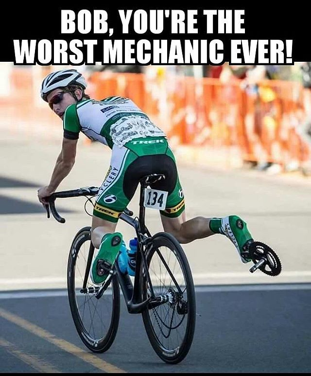 I think Bob got fired after this incident #Cycling #Memes #Funny #Oops