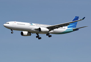 3 mai 2016 - GARUDA INDONESIA - Airbus A 330-300 F-WWCJ msn 1723 - LFBO - TLS