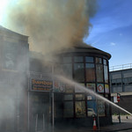 More pictures of the fire at Sandos, Preston - 5