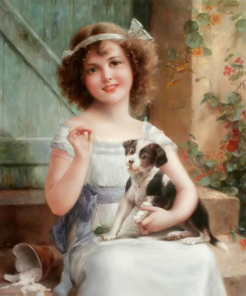 Waiting for the Vet by Emile Vernon - 1919