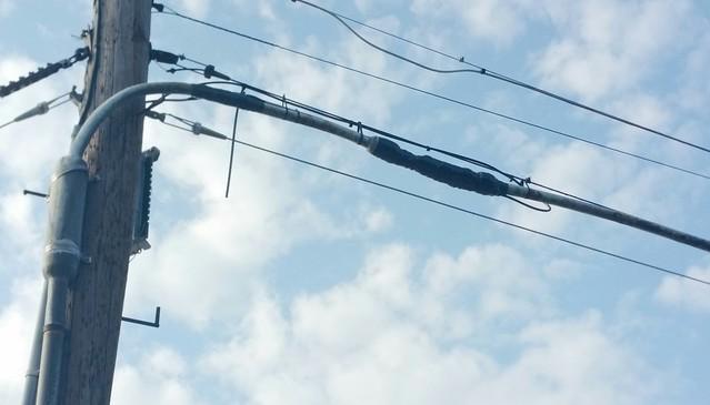 Bell-era Copper Telephone Wiring