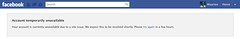 Facebook has a problem!