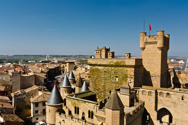 Castle of Olite /Castillo de Olite