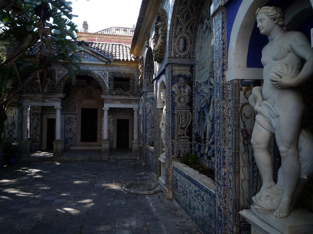 Galeria de las Artes. Palacio Marqueses de la Frontera